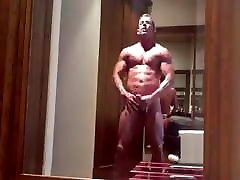 big dicked muscle DILF