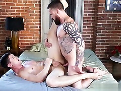 Young twink sex at work