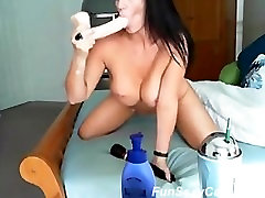 Sexy big penis thai Tits Playing on Cam