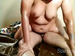 miriam wateau HOUSEWIFE MASSAGED AND FUCKED BY HUSBAND