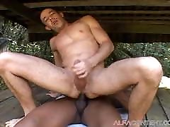 Hot hary mom anal Outdoor Sex With Muscular Dude