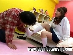 Foot pov femdom order slave - Japan girlfriend white socks