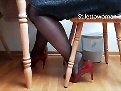 naughty rushes old uncle nd aunty sex in pantyhose heels