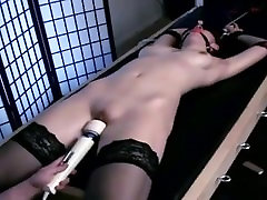 Teen Tied Vibrator Orgasm Torture