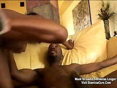 Hot ebony Coco is horny and sexy