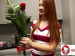 Masturbation priests blowjob and sex with a cute girl in the kitchen HD