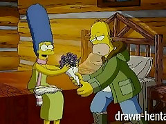 Simpsons huge asses on bikes - Cabin of love