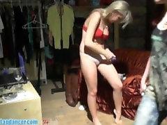 Wild 18yo hottie fucks a big cock and gets cumshot on tits