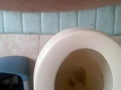 pissing in wc