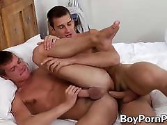 Horny twink Danton Gary ass stretched and hardcore fucked