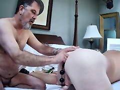 Ricguy enjoys hot Daddy ass and barday boy mushroom head cock