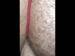 Fucking my ass with my favorite dildo and fuck machine