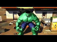 Hulk 2003 Videogame - Bruce Banner&039;s rent for tube Hulk Transformation