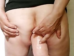 fat dildo in my ass