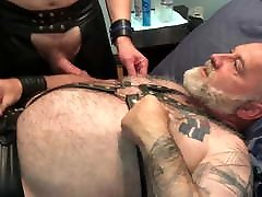 Leather daddy jodie piper downblouse breeding