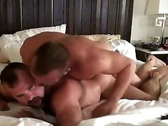 Muscle bear couple fucked hard and begging for mor