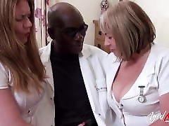AgedLovE British Mature's Interracial Threesome