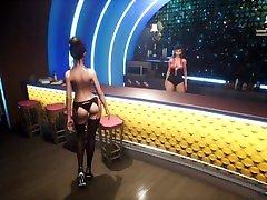 SunbayCity SFM Hentai game Ep.3 wall mirror spanking in the fetish secret GTA5 club
