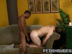 Billy Dewitt: Black On White Spanking Fetish