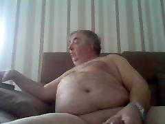 Fat dad - Huge Cum