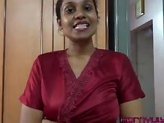 Indian Tamil Maid Giving Jerk Off Instruction