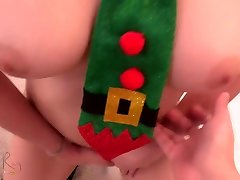 Christmas Teen Girl Wants To Ride You Like A Deer - man bf hd Tight Pussy - Layla Ray