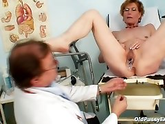 Czech anabela flovers Got A Big, junge spermaluder Dildo Inside Her Wet Pussy While Visiting Her Gynecologist