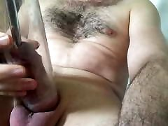 Cock sounding, pumping, slapping, torture