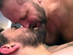 Hairy Verbal Daddy talks dirty to cute Otter