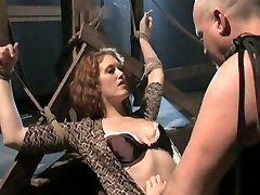 Intense abusive bdsm father sex daughter without permition scene