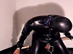 Rubber Slave Electro Torment