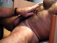BJ-HJ-BJ: Moustached europe school Daddy Blows Hung pain of anguish Daddy