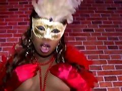 Nelly Black das deutsche Ebony Teen hart gefickt