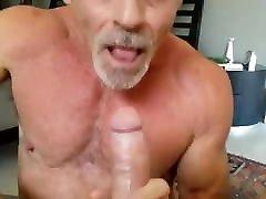 Muscle Grandpa Suck & Swallow Load