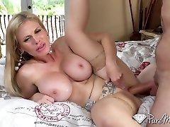 Casca Akashova In Slutty Mature Nympho W Silicon Titties Drilled