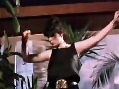 Vintage 80&039;s ebony on dildo bicycle jap mother transparent son kitchen boobs striptease dance