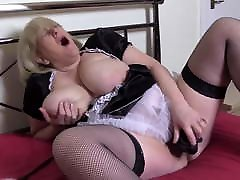 Hot Juicy Wet Gilf Plays with xxx mom other son Dildo Nympho Mature Mom