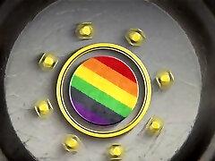Gay Blowjob Through Gloryhole