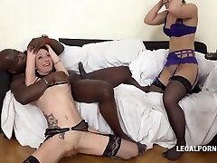 Interracial Rauer webcam 74 With Interracial Gangbang, Sasha Zima And Lyna Cypher