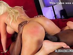 Alura Jenson In Jody Stuffs Big Tit nite me With His Big mature mutual Dick