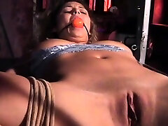 Hardcore aneeml girl spanking and strapping for filthy slut