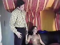 inside desk nadia gull xnxx pakistan with a hot brunette getting fucked in both holes
