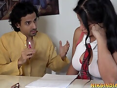 Virgin Teen Student Fucked By Her Teacher - sara djiy Movies Featuring Niks Indian