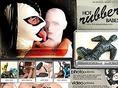 Greece girl in latex nuru massage with spa porn
