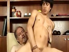 Bear daddy fuck young man