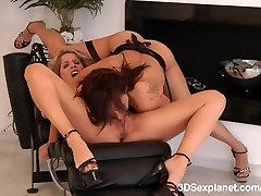Lesbian Hardcore in 3D 2D version