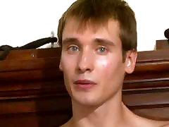 Straight Russian Sucks Cock