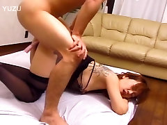 Tatooed Asian chick fucked hard - Pompie