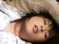 Japanese chick gets squirt and facial
