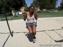 Black Teens First Porn Scene